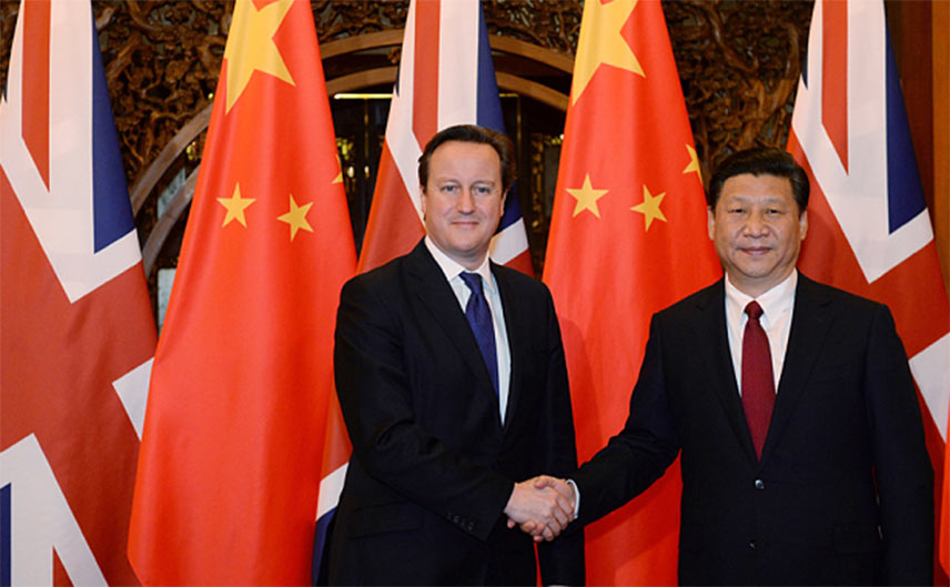 Deal witnessed by UK Premier Cameron and Chinese President Jinping