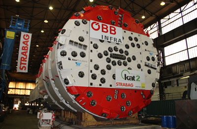 9.93m diameter Aker Wirth launches at Koralm