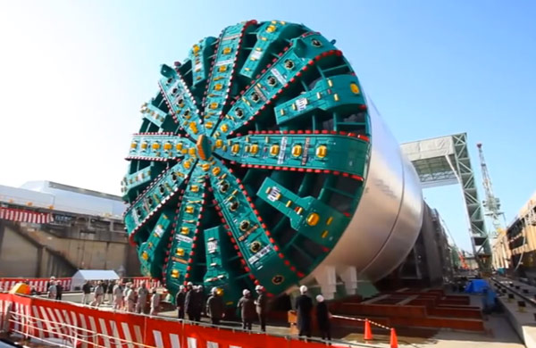 TBM Bertha has moved 2ft in three months