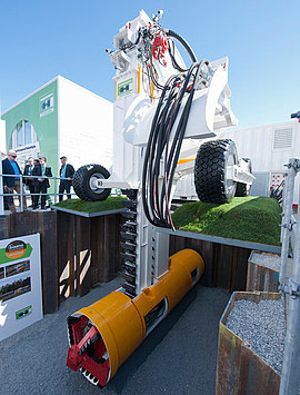 Herrenknecht exhibits its award-winning Pipe Express system at bauma