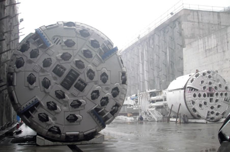 Chonqing Metro rock TBMs ready for launch