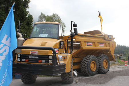 The Cat 730EJ has 31 tonne payload