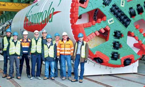 4.24m Herrenknecht TBM is ready to ship