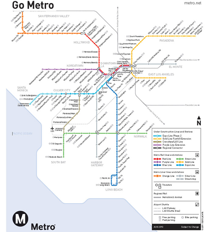 Los Angeles Scopes Mega Metro Expansions  TunnelTalk