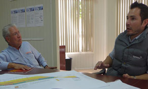 Hector Carrillo Gurrola of CARSO (left) and Marcos Camarena of Robbins (right)