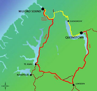 11.3km Dart Passage will cut the 12 hour Queenstown to Milford Sound journey to 4 hours