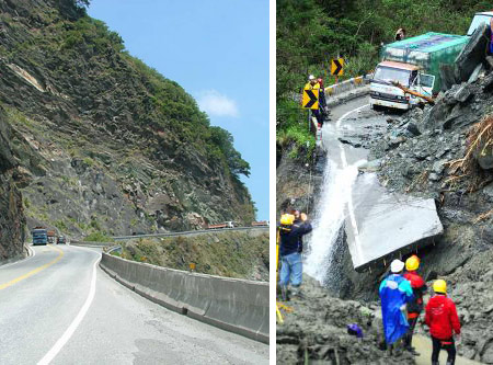 Suhua Highway, spectacular and dangerous
