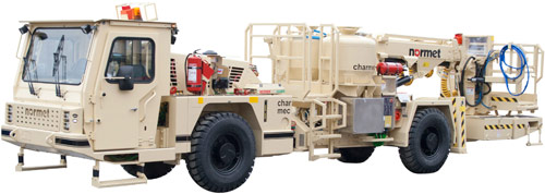 The Normet Charmec MF 605D