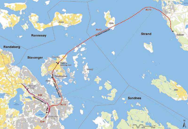 New Undersea Megaproject For Norway TunnelTalk - Norway highway map