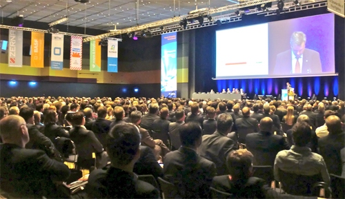 Nearly 1,600 delegates attended STUVA 2013 in Stuttgart
