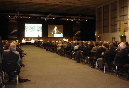 More than 1,400 delegates crowded in to attend STUVA 2011 in Berlin