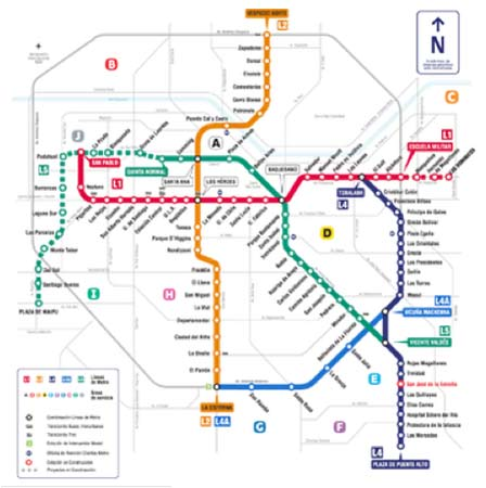 new subway map with Santiago Metro Apr03 Natm For Underground Construction on 8575561625 moreover 57th Street additionally 1362321510 moreover Santiago Metro Apr03 NATM For Underground Construction additionally 5503233900.