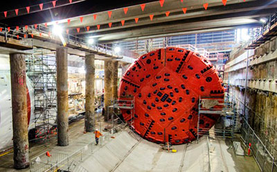 Second rebuilt TBM ready for Legacy Way launch