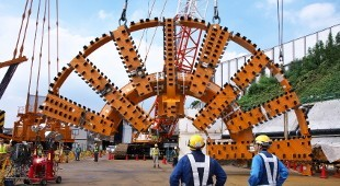 Mega TBMs for Tokyo Ring Road drives