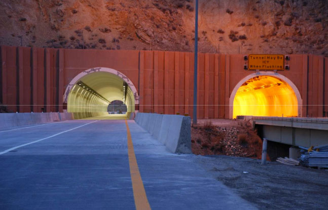 NYX TLACS system fitted to Carlin Tunnel, Nevada