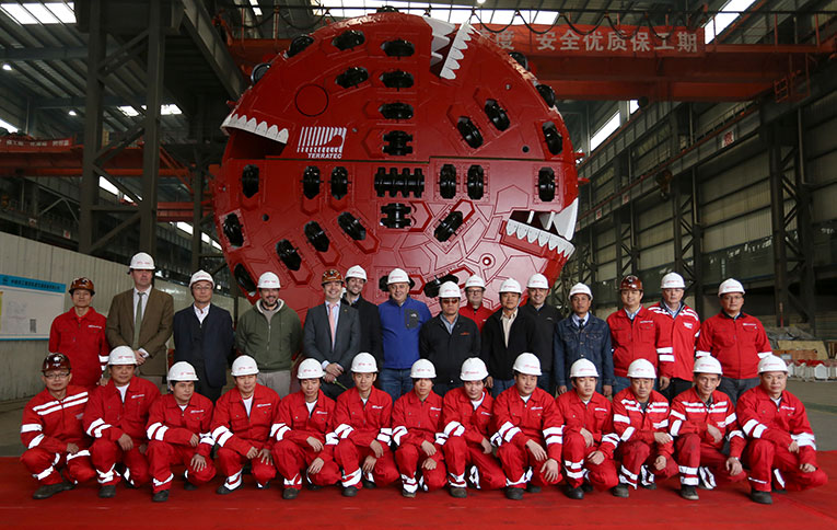 Factory acceptance of the Terratec TBM