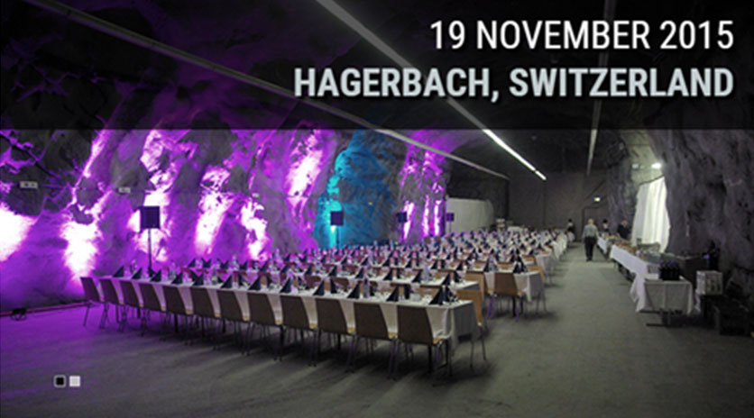 Awards conference and gala dinner presentations will be held in Switzerland in November