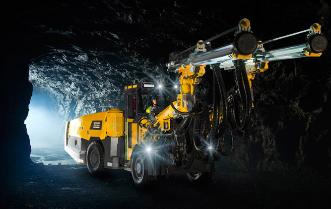 Atlas Copco Boomer S2, equipped with Dynamic Tunnelling Package
