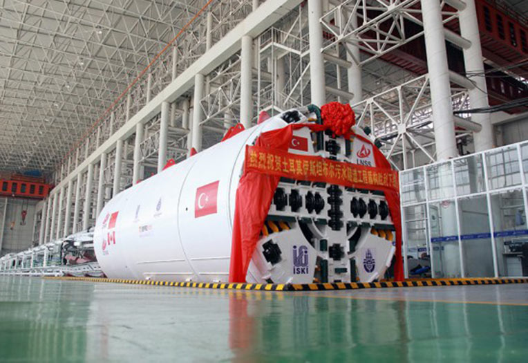 Lovsuns 3.91m diameter EPBM for Istanbul in the factory in China