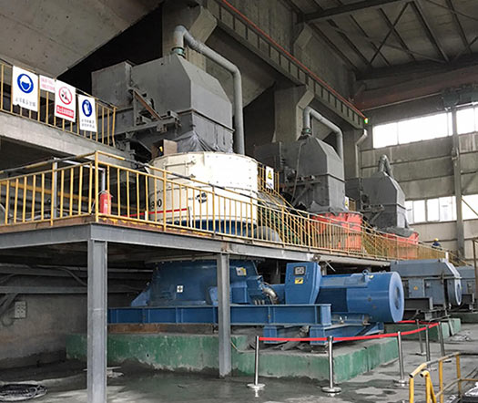 MH900 cone crushers used to process excavated tunnel rock