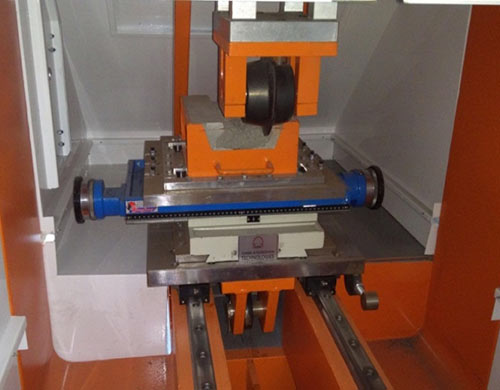 Fig 15. Developed small-scale linear cutting machine
