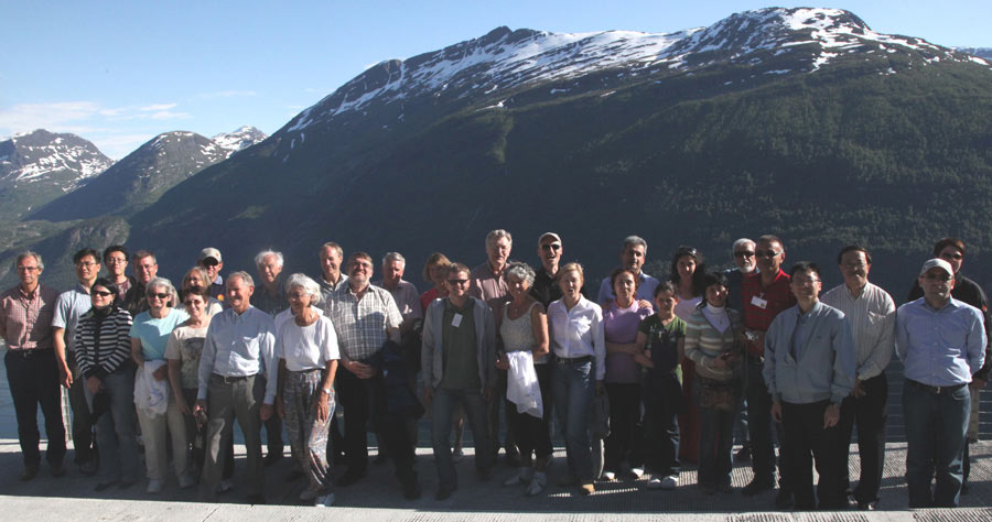 Group tour after Strait Crossings Symposium in 2009