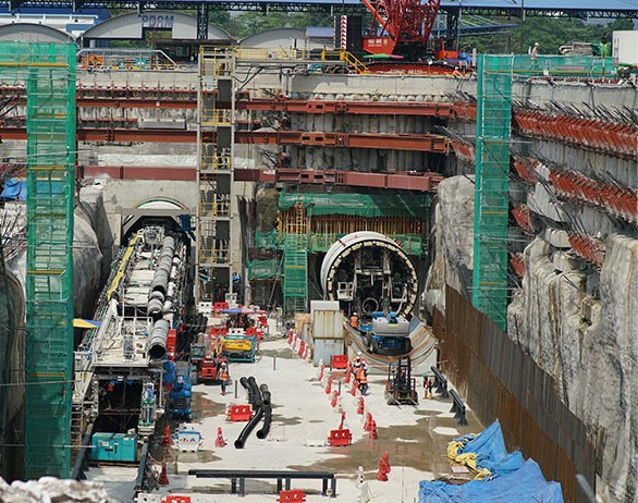 Variable Density TBMs underway for Line 2 in Kuala Lumpur