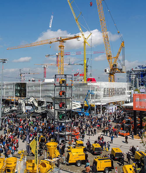 bauma Munich 2019 prepares to welcome record numbers