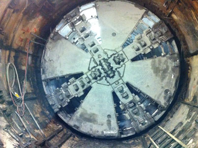 Elizabeth completes 5.9 miles of tunneling