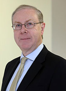 Halcrow Chief Executive Peter Gammie