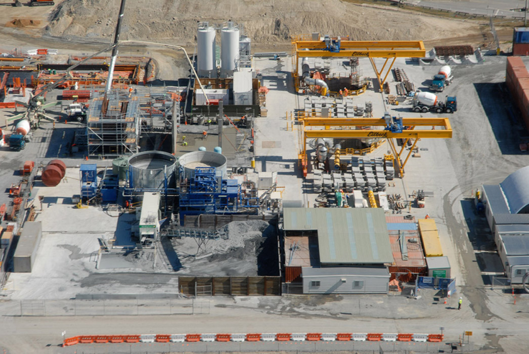 Subsea Connection For Desalination Plant