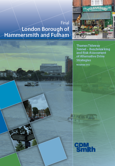 Thames Tideway currently divided into three construction lots: West, Central and East
